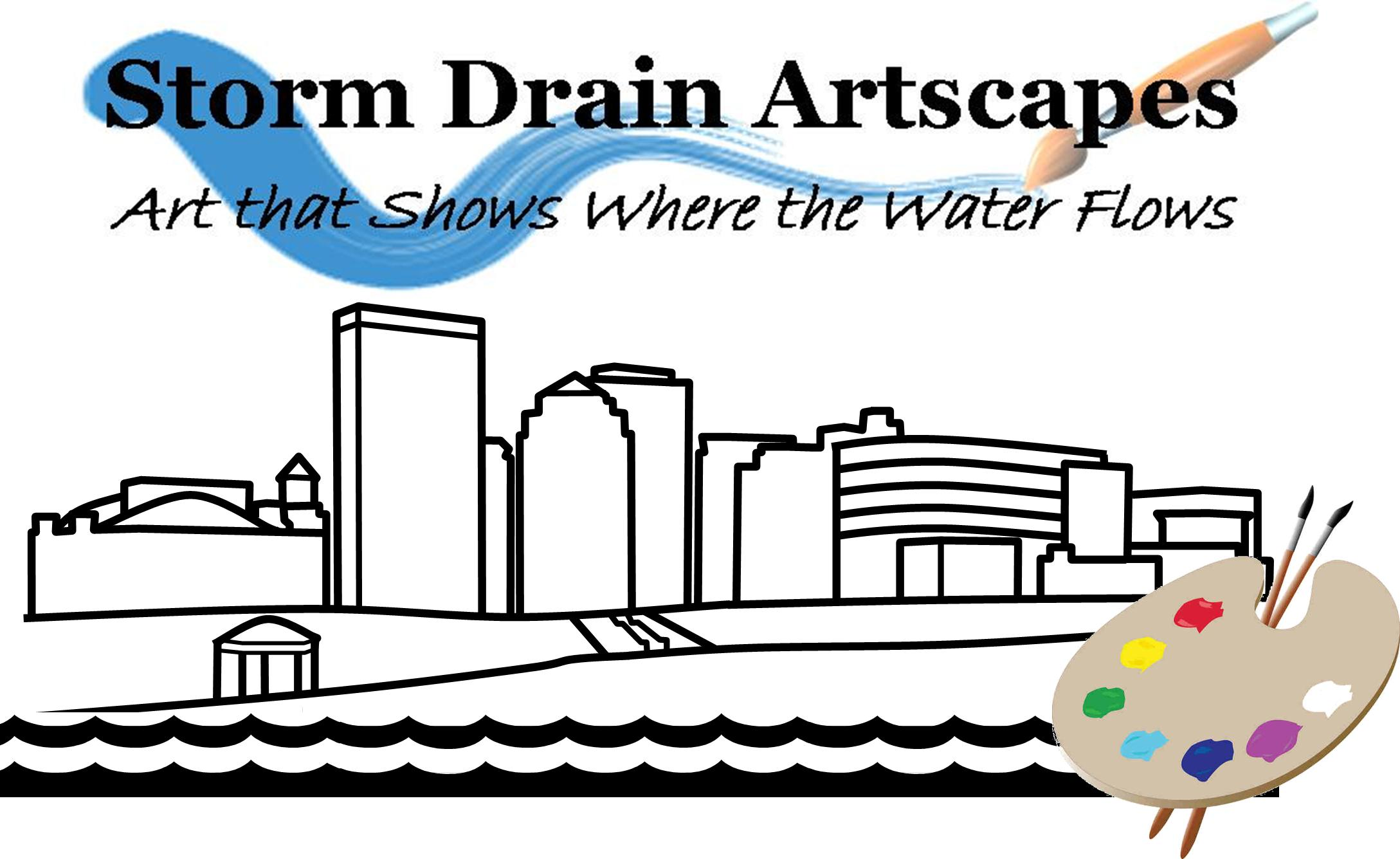 Storm Drain Art graphic