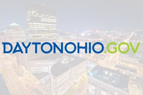 Dayton Ohio .gov website graphic