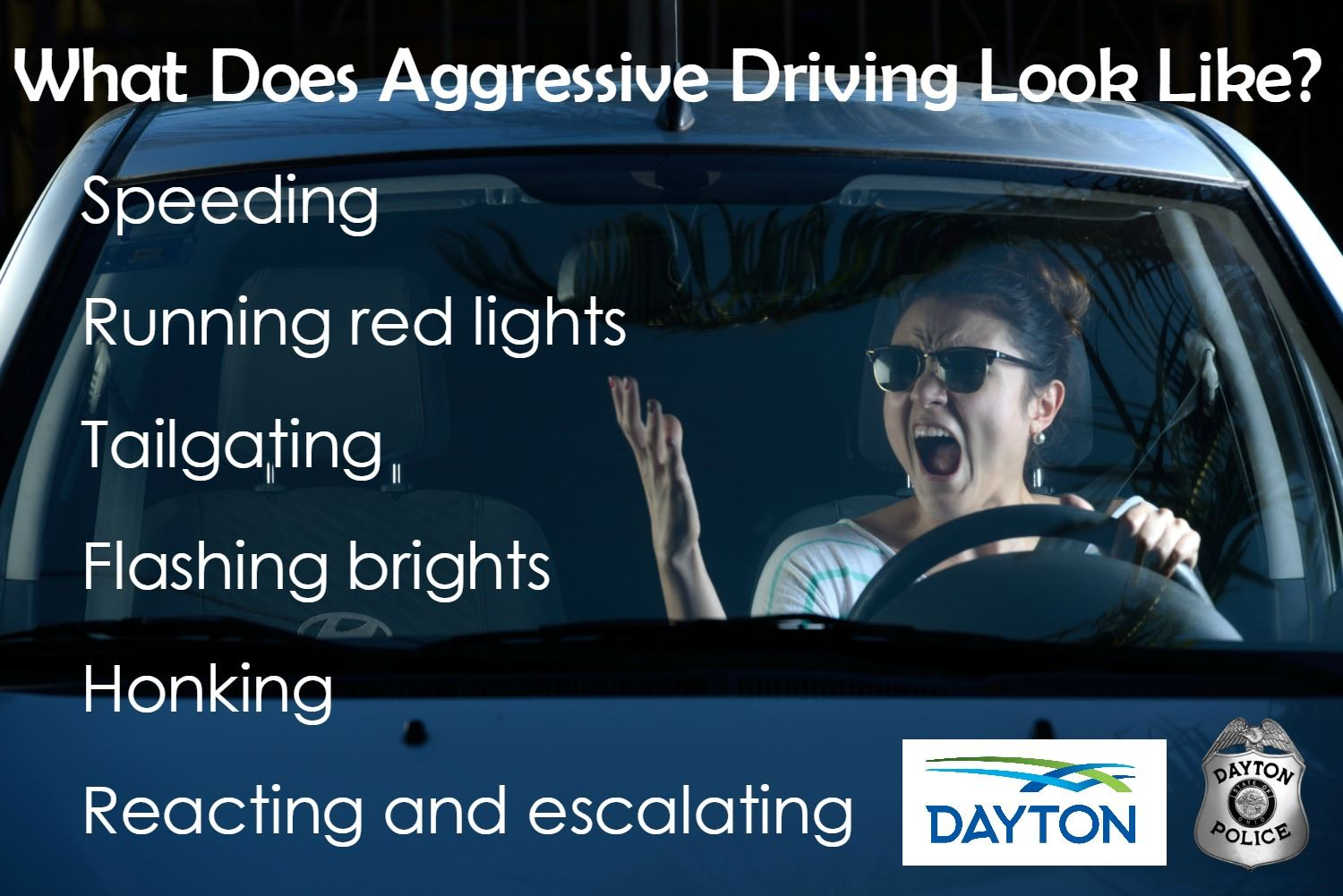 Aggressive Driving Examples