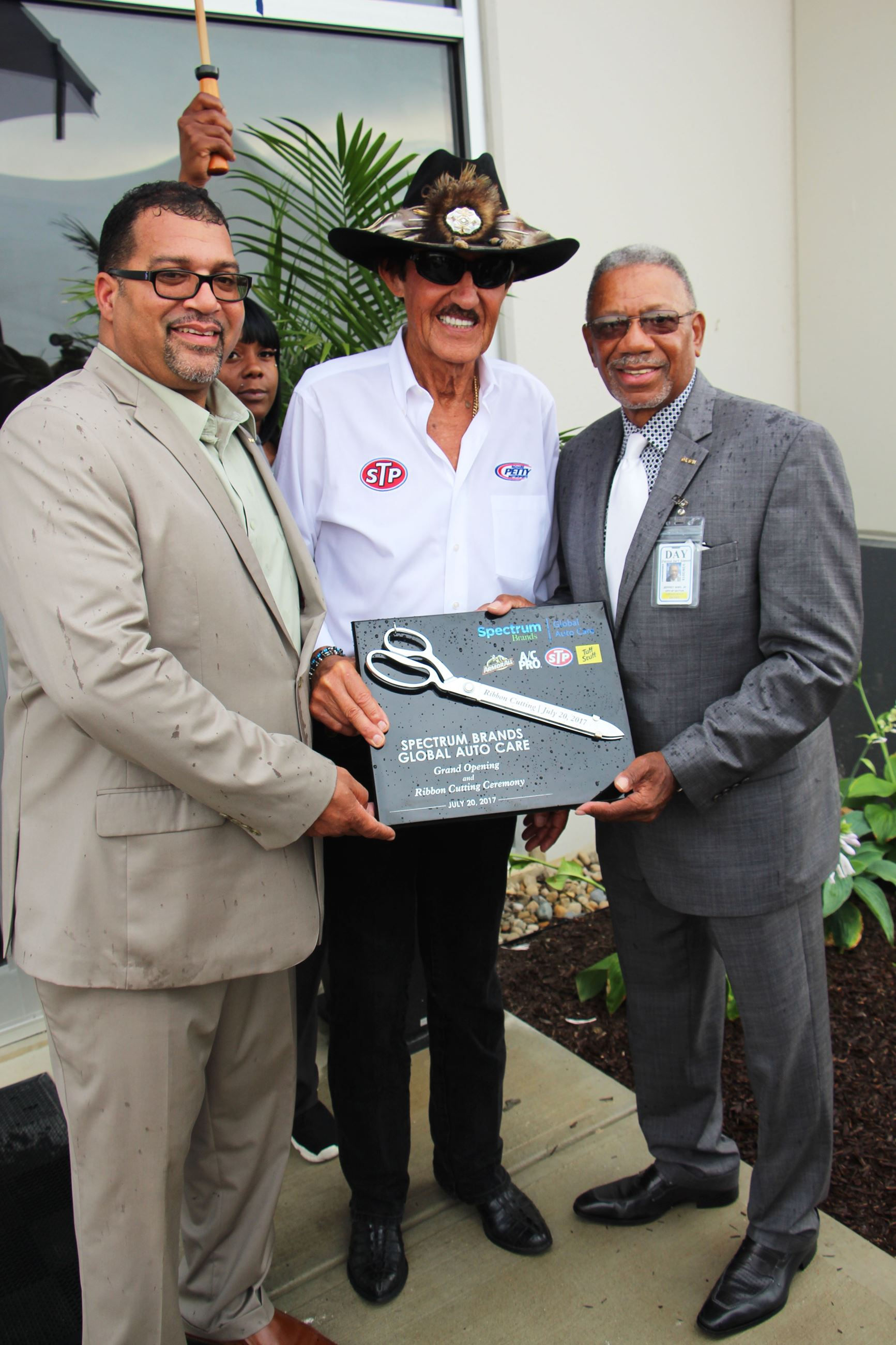 Richard Petty Opens Spectrum Brands Center