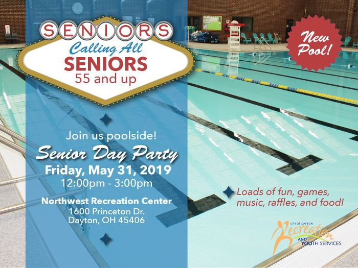 Senior Day Party Flier