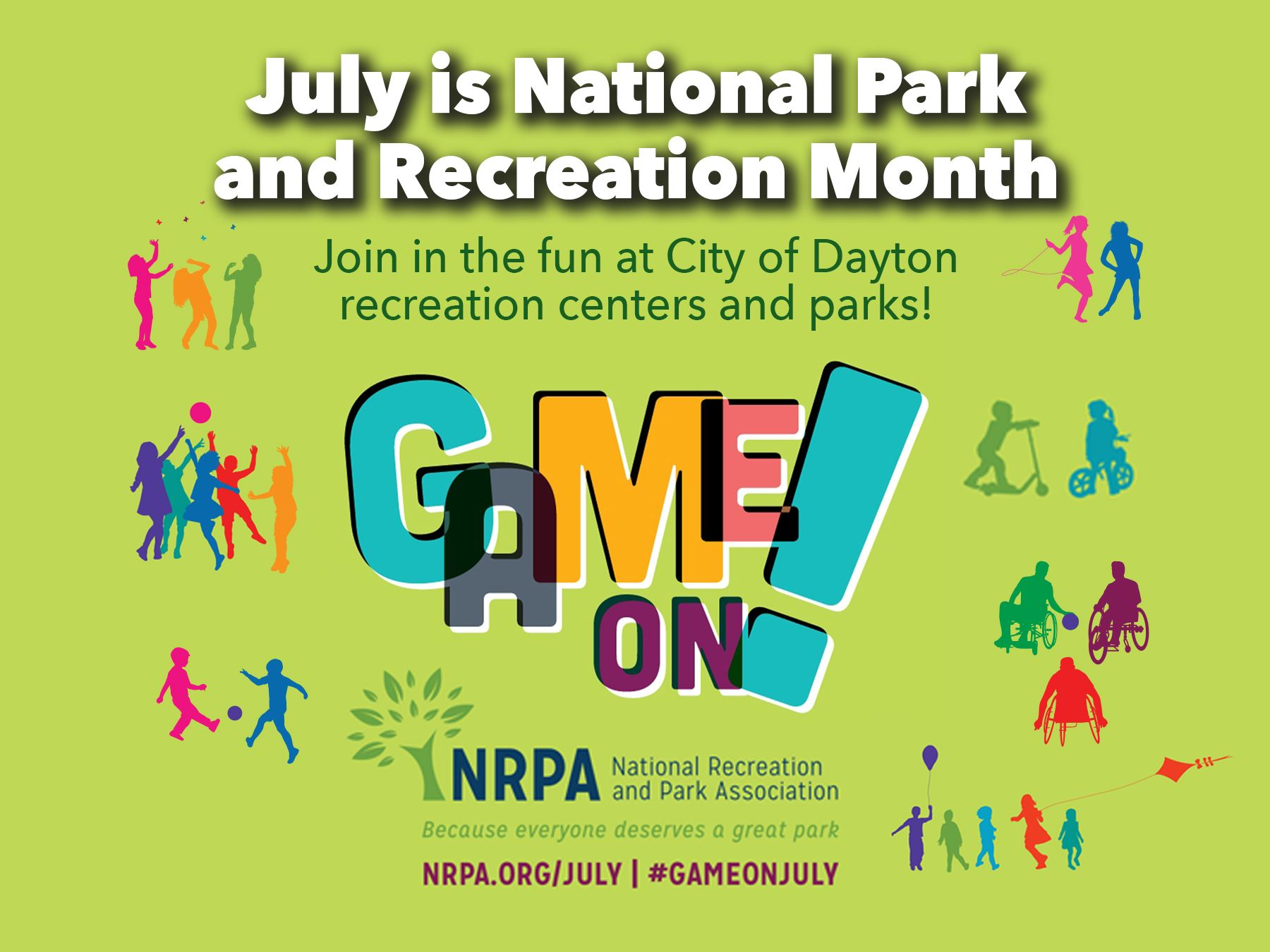 National Park & Recreation Month Flier