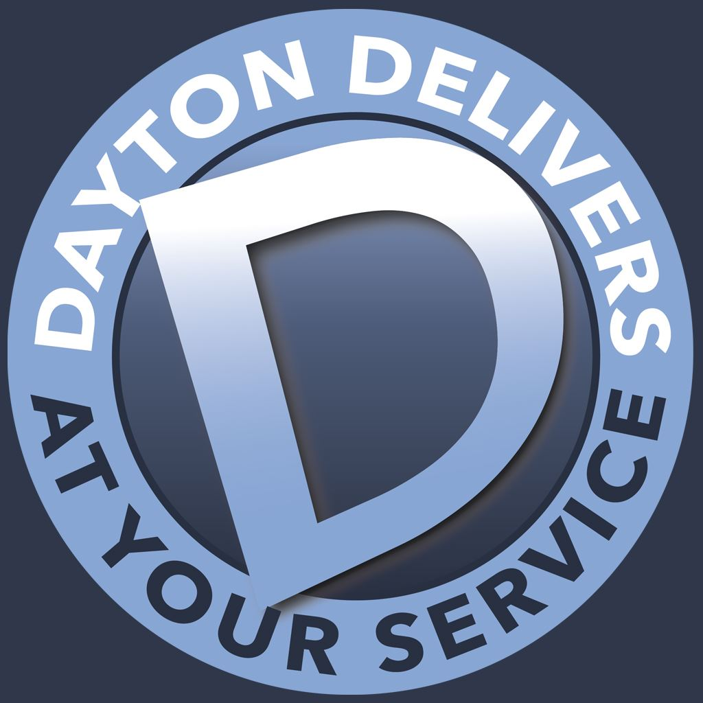 Dayton Delivers at Your Service Logo