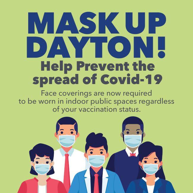2021 Fall Mask Up Dayton Flier