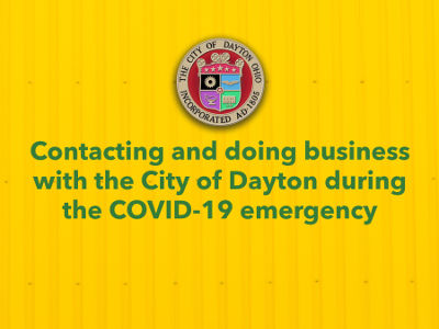 Doing Business With City During COVID-19 Poster